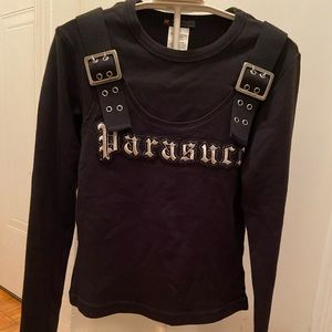 Vintage parasuco long sleeve top small
